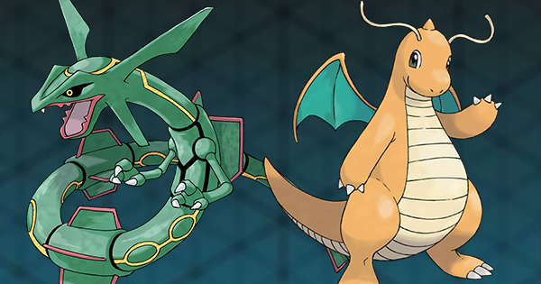 Rayquaza vs. Dragonite