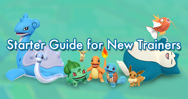 Starter Guide for New Trainers