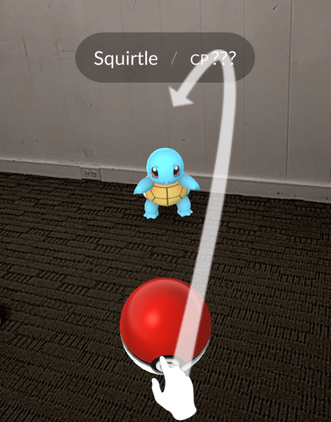 catchingSquirtle