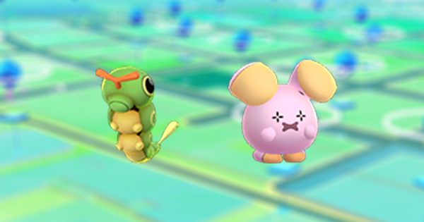 Caterpie and Whismur