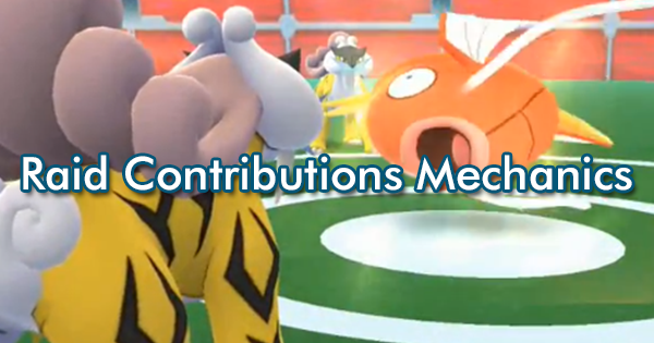 Raid Contributions Mechanics