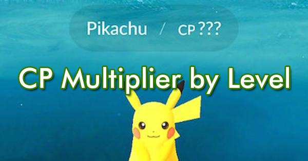 cp multiplier pokemon go gamepress