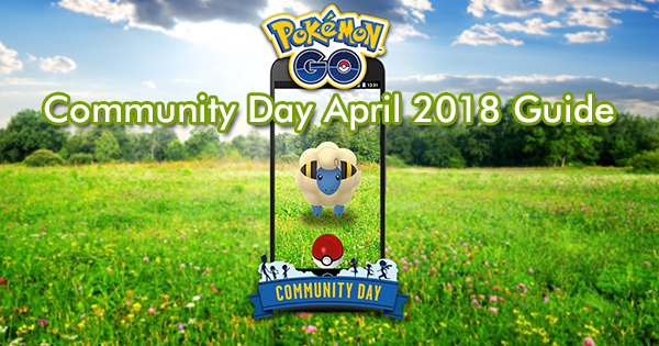 Community Day April 2018 Guide