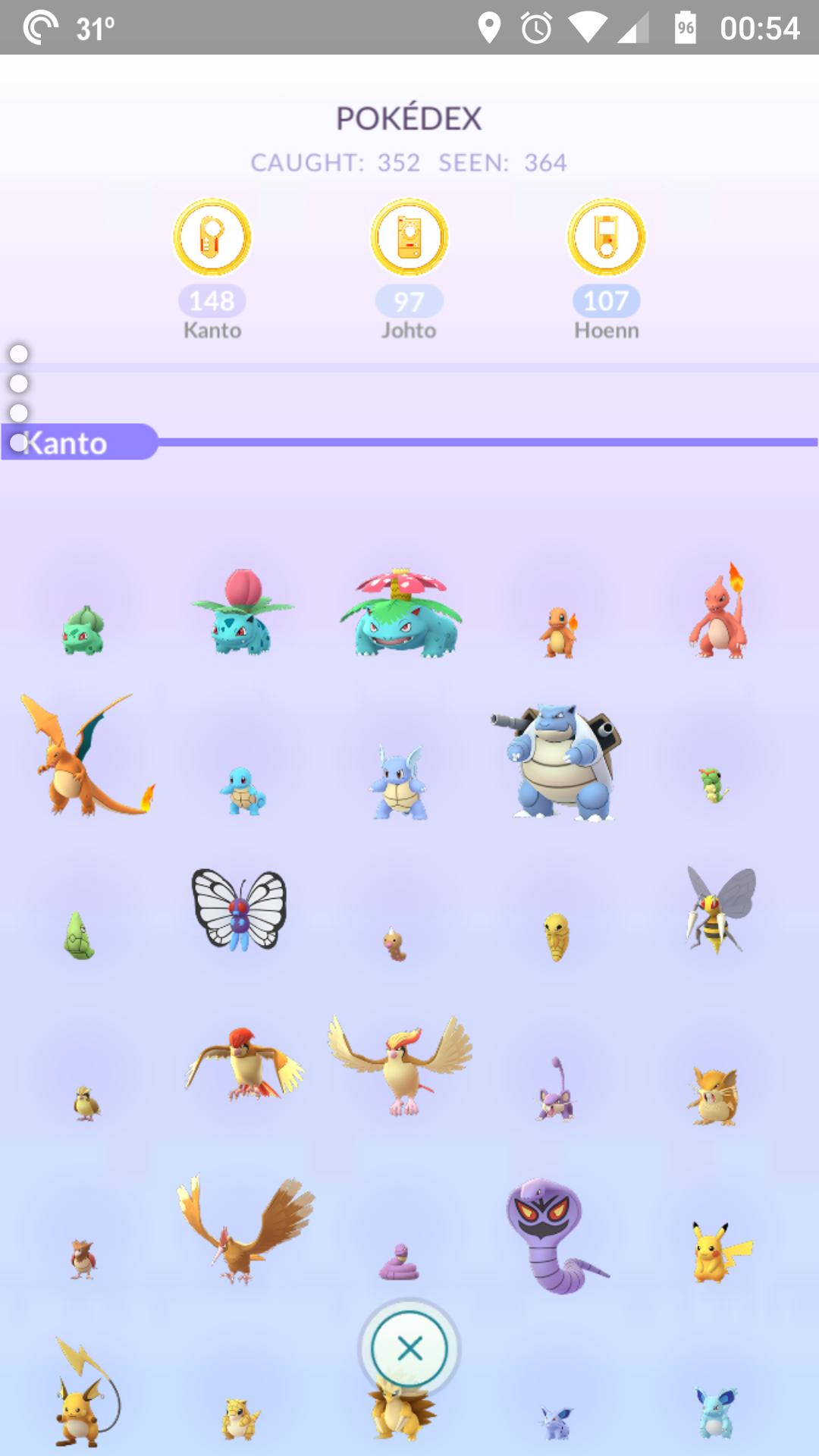 Progress on gens 1-3? | Pokemon GO Wiki - GamePress