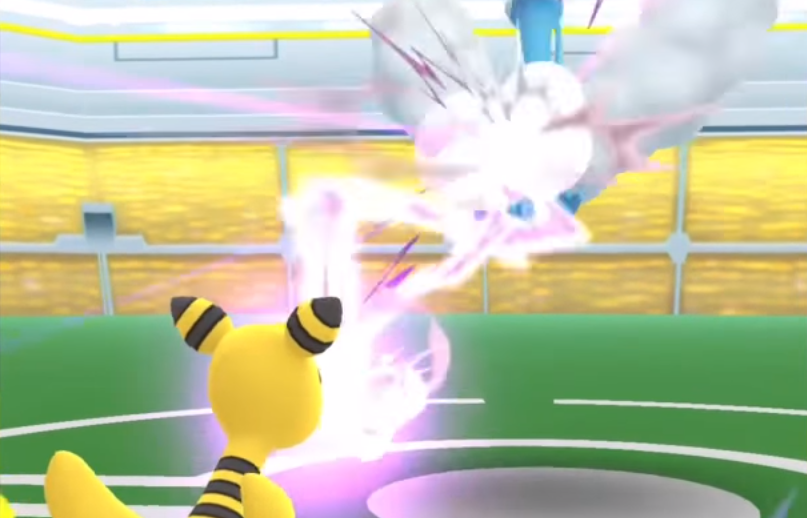 Dragon Pulse and Ampharos