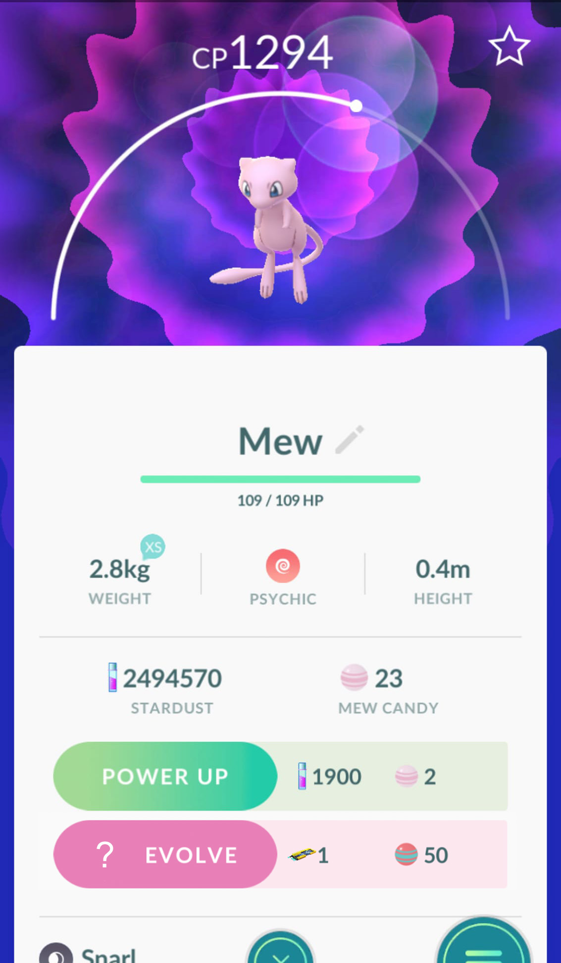Should i evolve this mew to mewtwo or wait for a better one pokemon go wiki gamepress - Evolution mew ...