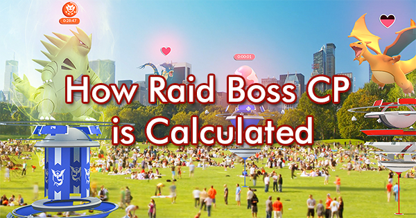 How Raid Boss CP is Calculated