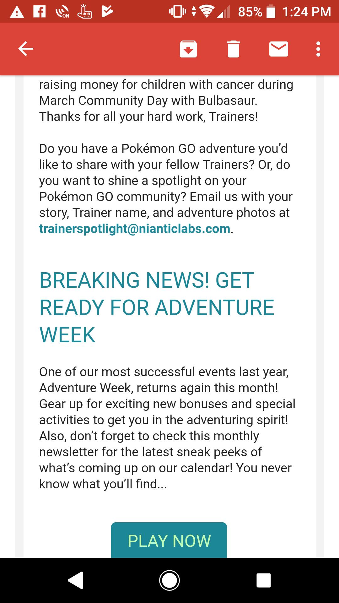 When Adventure Week 2018 (Rock event) is Starting