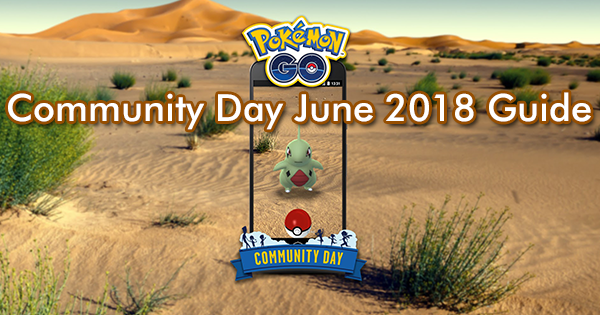 Community Day June 2018 Guide