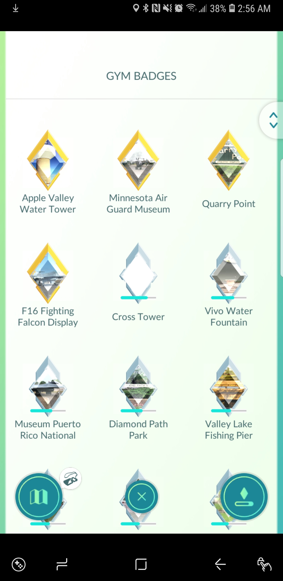 Benefits from gold gym badges? | Pokemon GO Wiki - GamePress