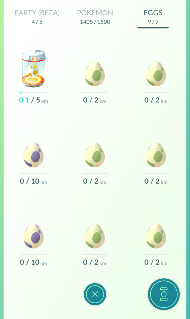 optimal egg inventory
