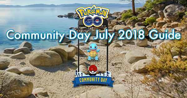 Community Day July 2018 Guide