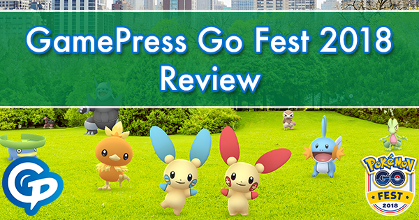 GamePress Go Fest 2018 Review