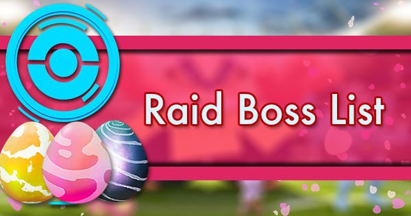Top Tier Gas List 2020.Raid Boss List Pokemon Go Wiki Gamepress