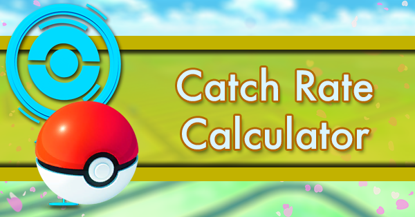 Catch Rate Calculator