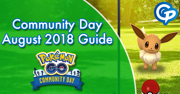 Community Day August 2018 Guide
