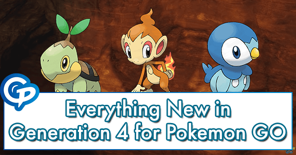Everything New in Generation 4 for Pokemon GO