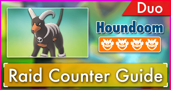 Houndoom Duo Raid Guide