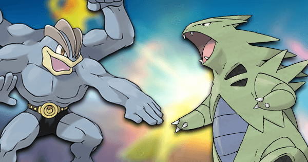 A Popular Challenge: Machamp vs Tyranitar