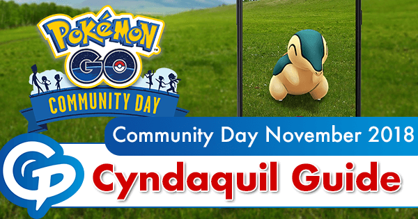 Community Day November 2018 Guide