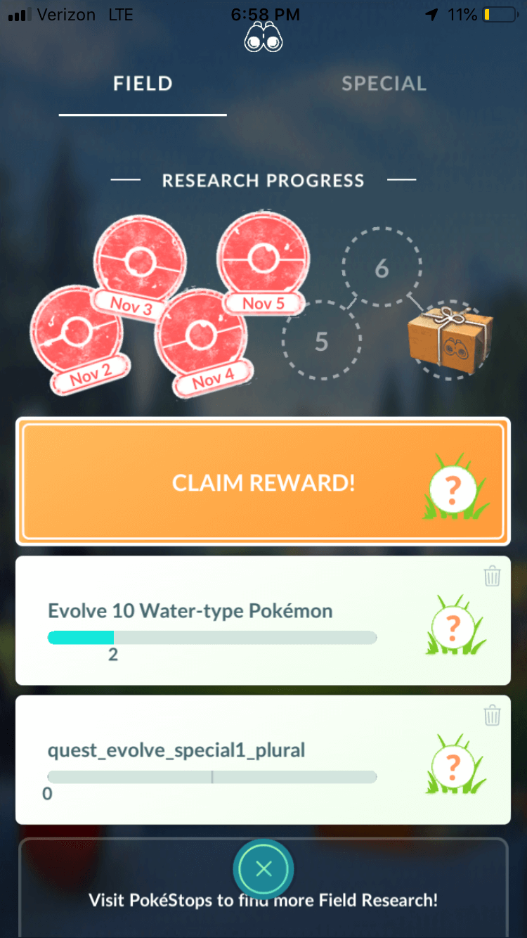 evolve 10 water type