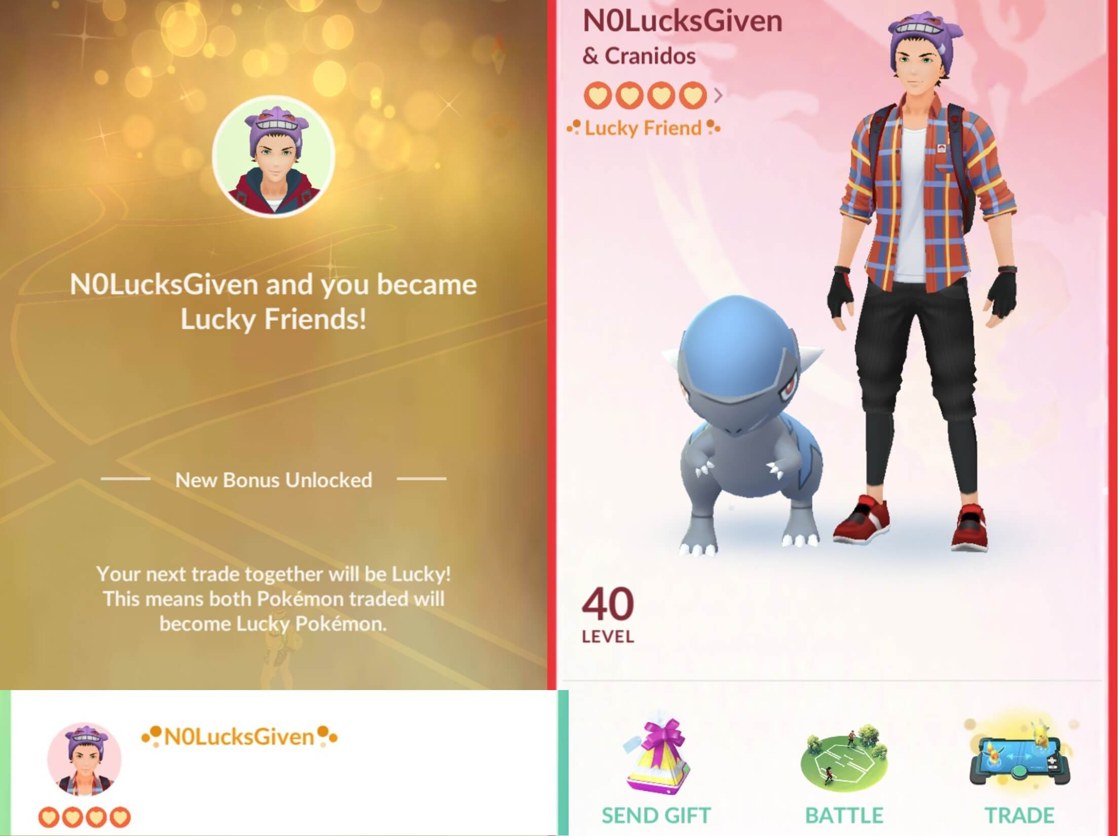 Friendship, Trading, and Gifting Guide | Pokemon GO Wiki