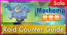 Machamp Solo Raid Guide