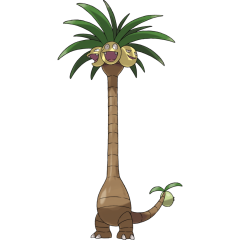 Image result for alolan exeggutor