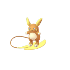 Image result for pokemon go alolan raichu