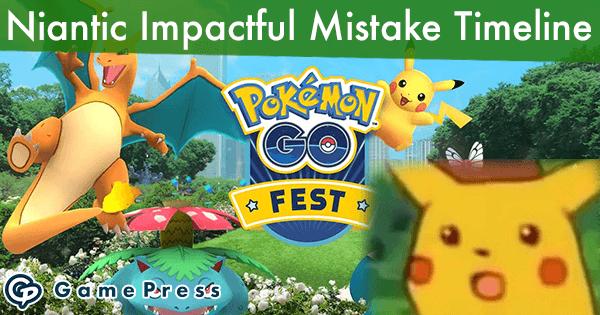 Niantic Impactful Mistake Timeline | Pokemon GO Wiki - GamePress