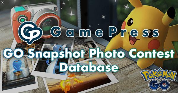 GamePress GO Snapshot Photo Contest Database | Pokemon GO