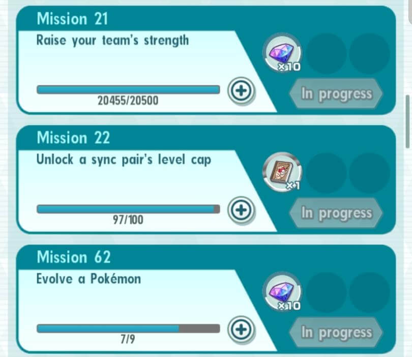 Ingame Missions