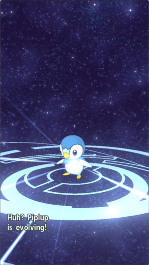 Piplup evolution