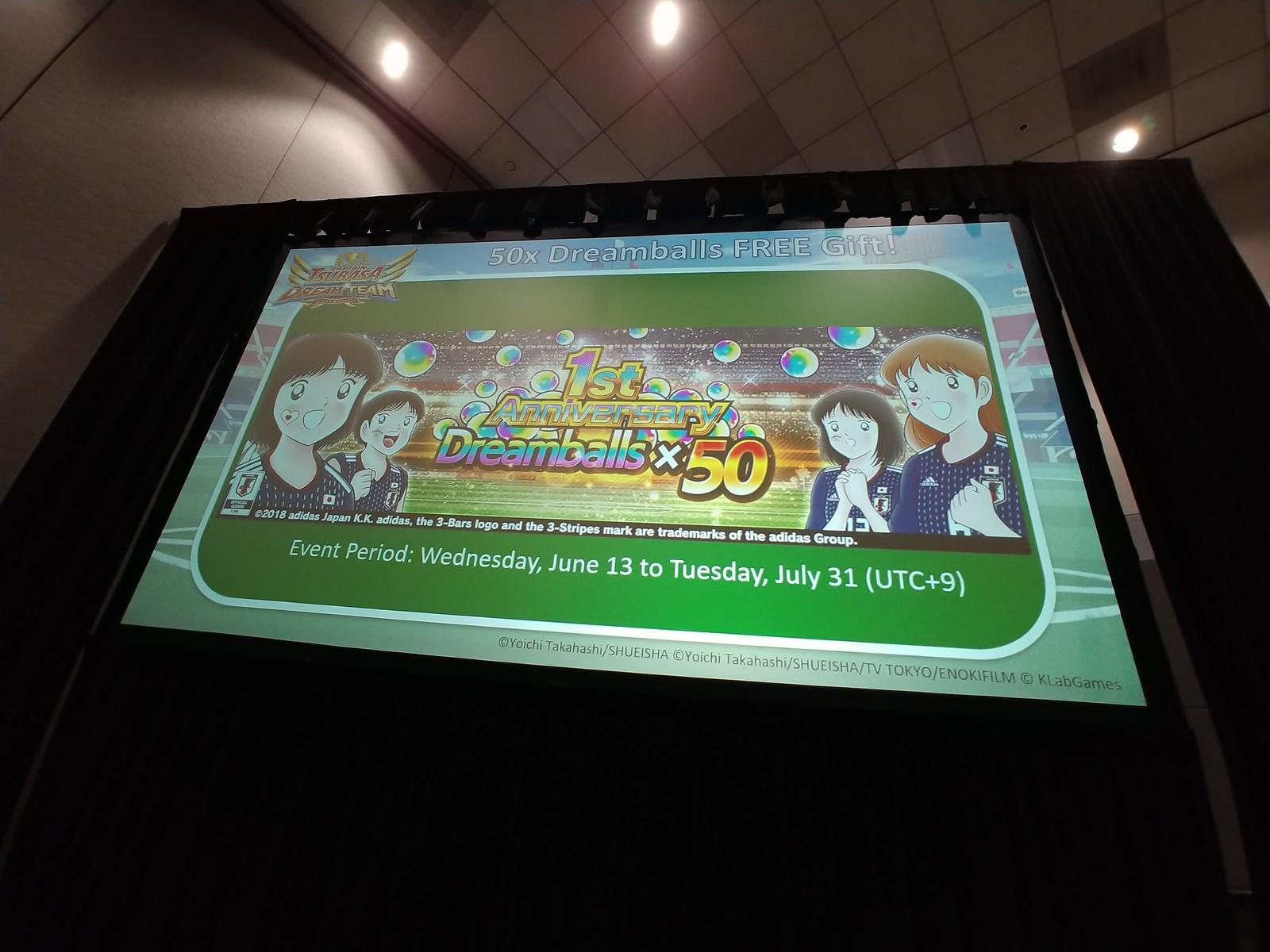 AX2018 KLab Industry Panel: Captain Tsubasa: Dream Team