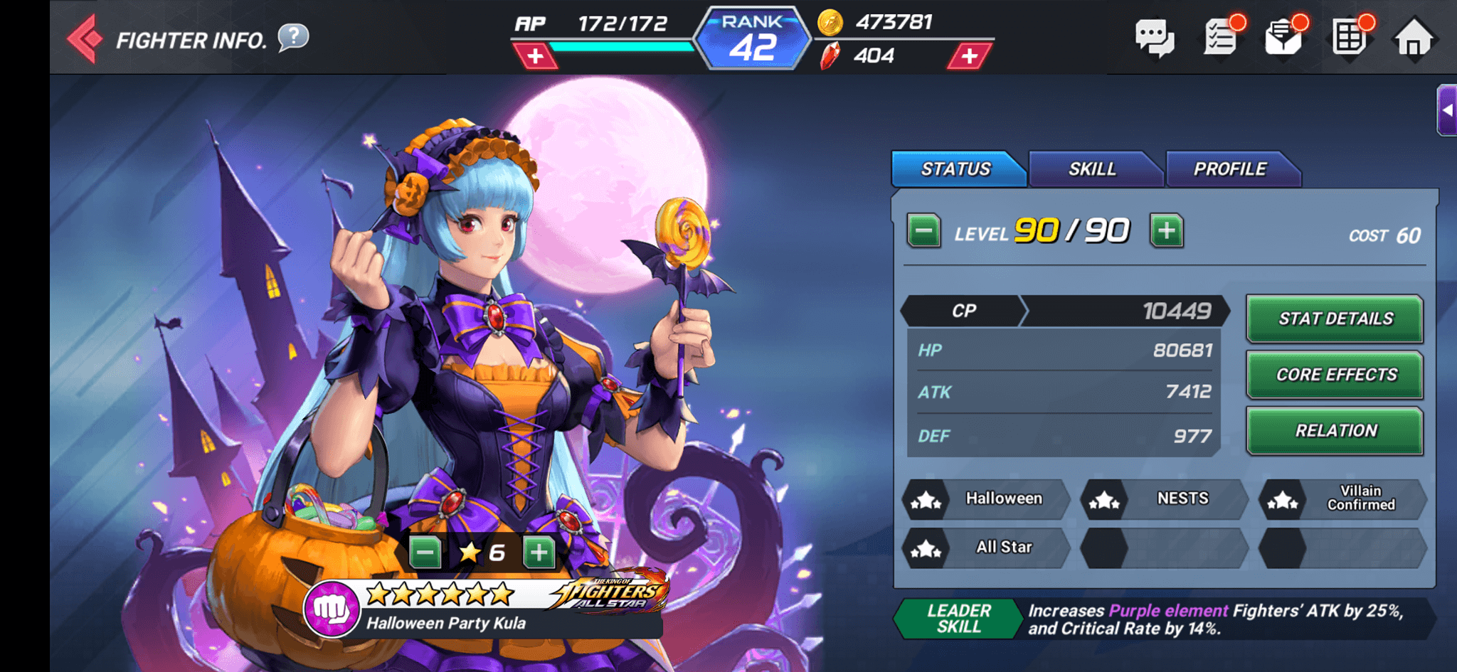 King Of Fighters Allstar Halloween Party Should You Summon