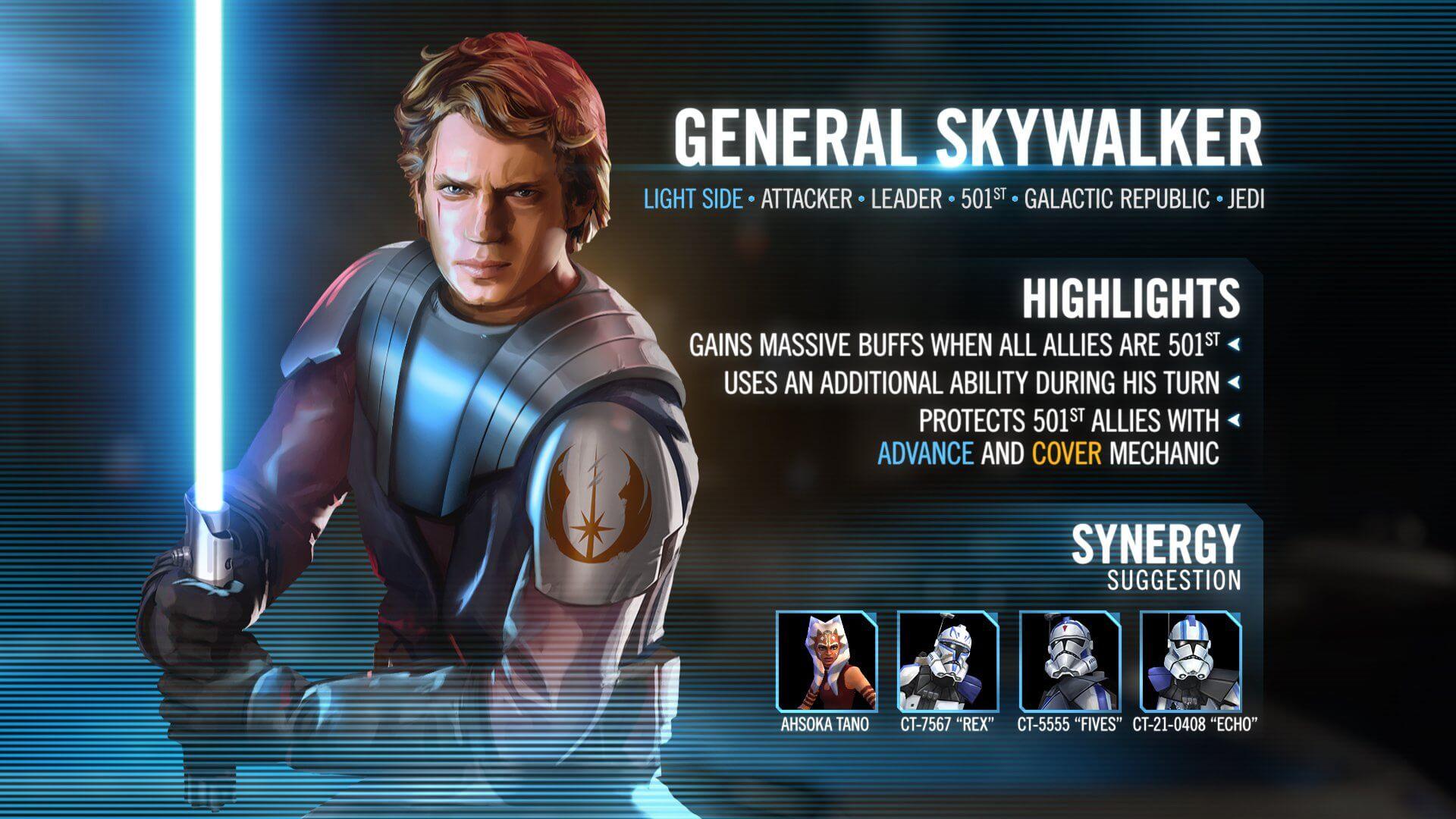 The November 2019 General Skywalker Soft Counter Guide Star
