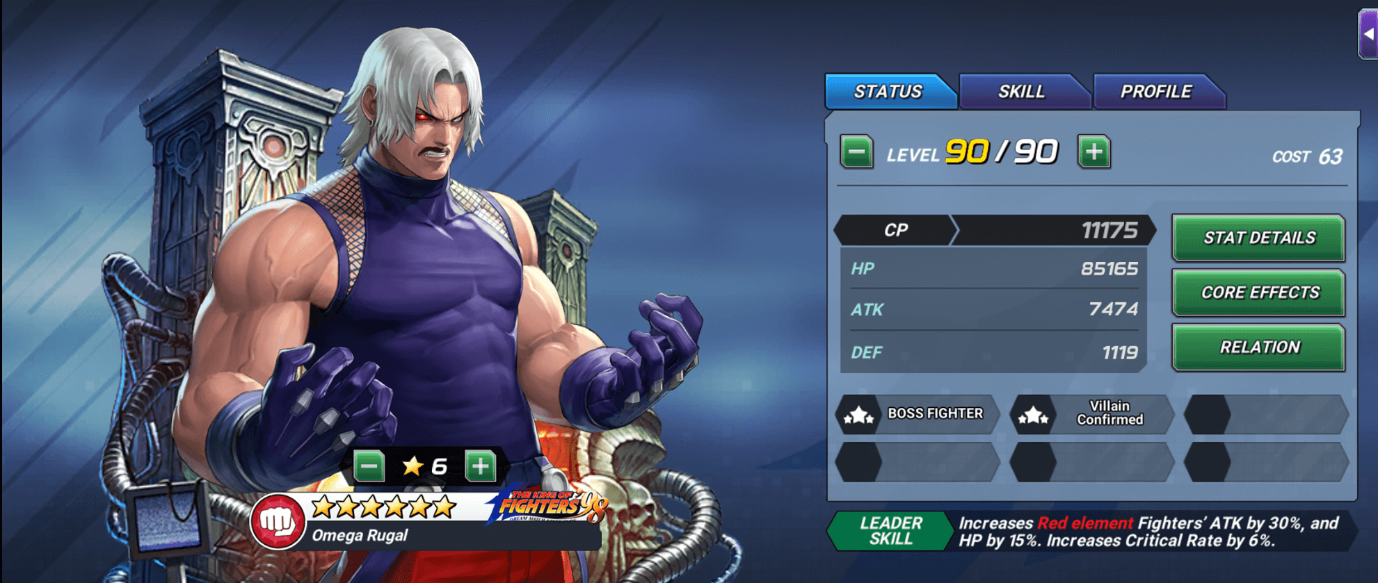 King Of Fighters Allstar Omega Rugal 98 Should You Summon