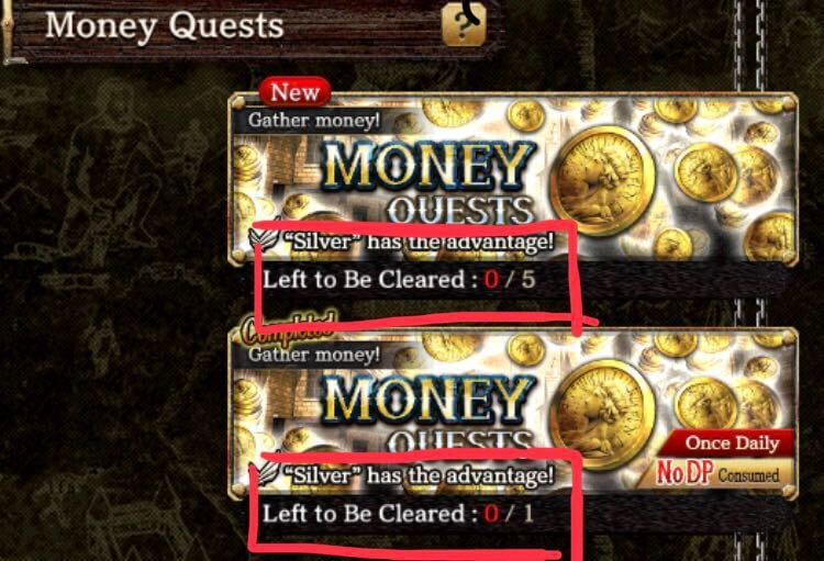 Money Quests