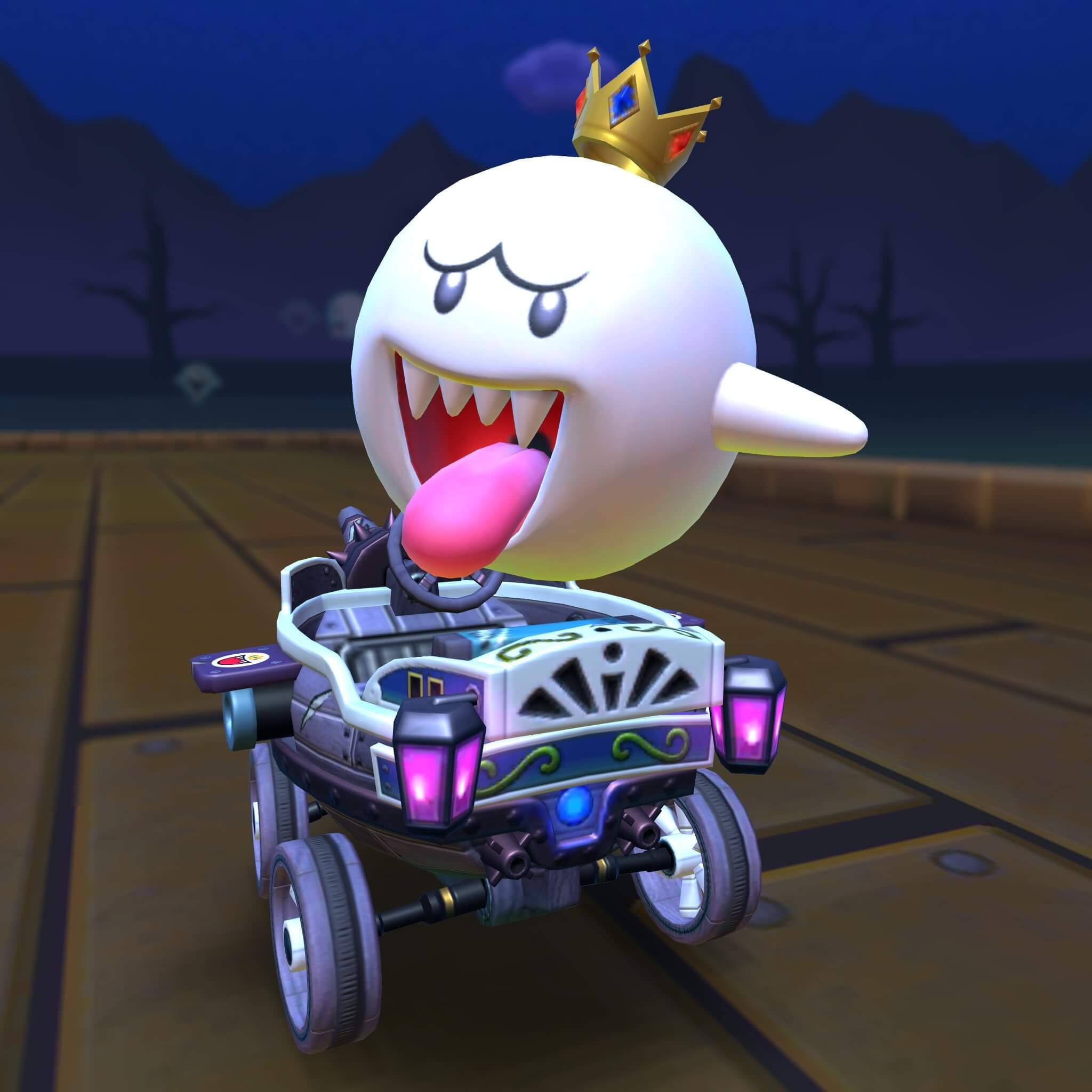 Mario Kart Tour Halloween Tour Incoming Luigi Playable