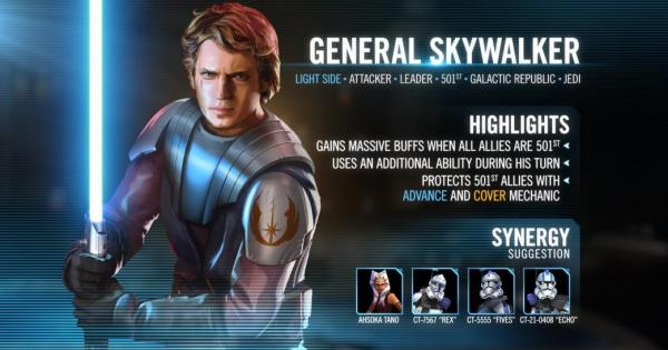 Official kit reveal image from the forums for General Skywalker