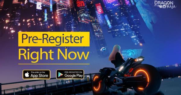 Dragon Raja Global Pre-Registration