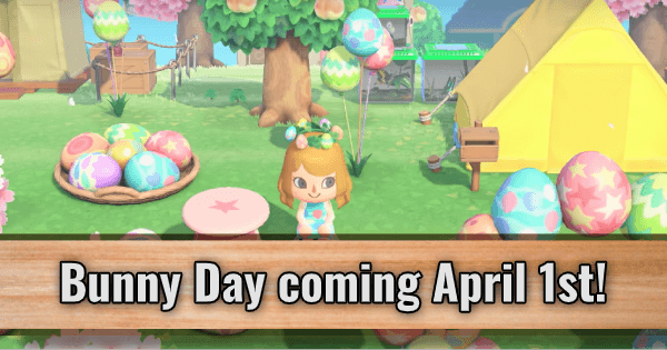 Bunny Day coming April 1st