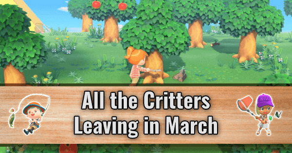 All the Critters Leaving in March