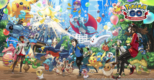 Pokemon Go announces third anniversary event