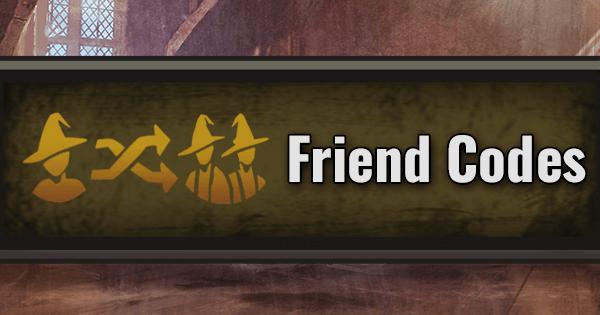 Friend Codes List | Harry Potter Wizards Unite Wiki - GamePress
