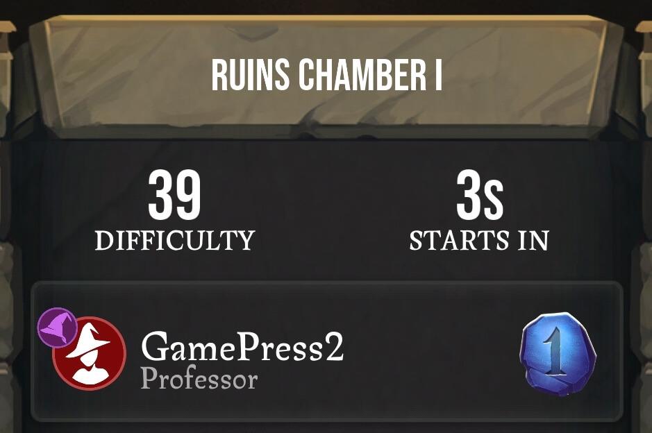 Chamber 1 Ruins