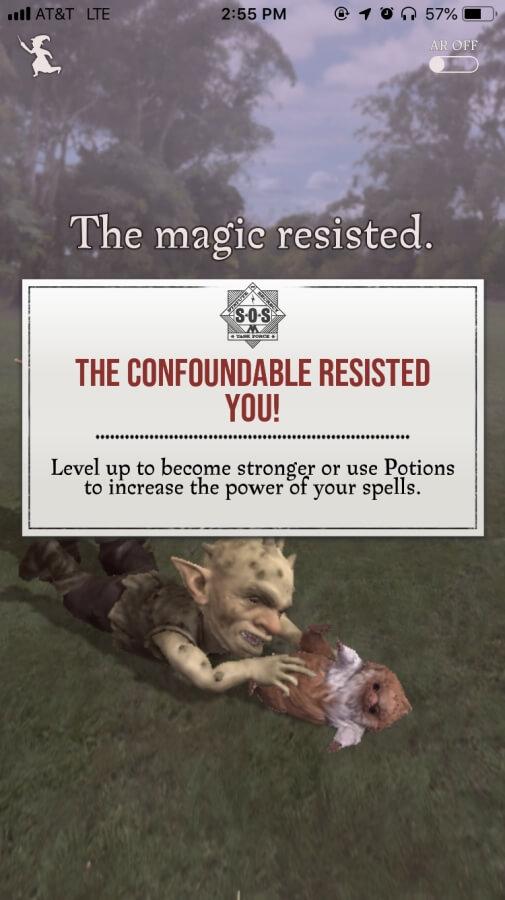 Magic Resisted