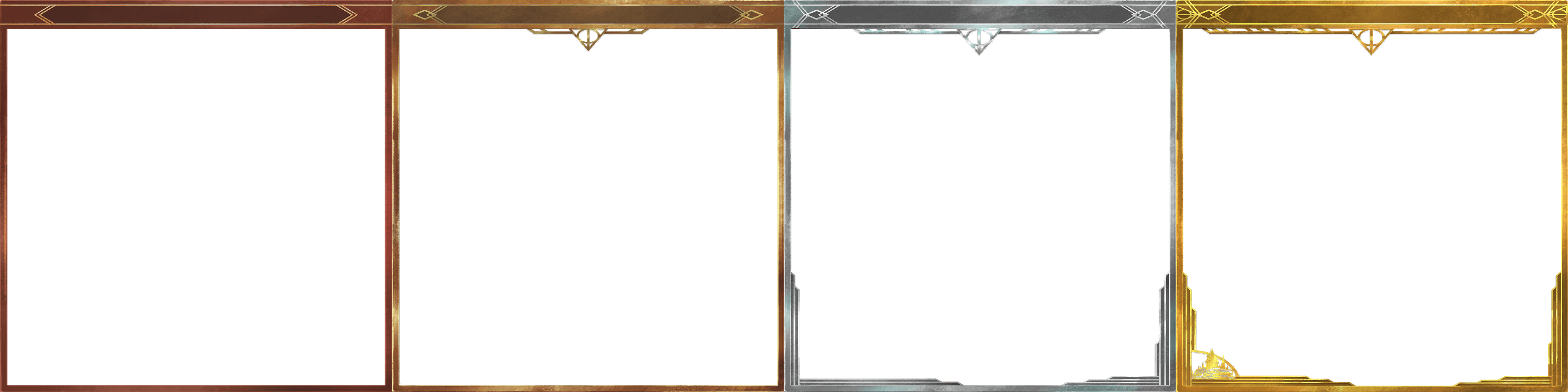 Prestige Rank borders