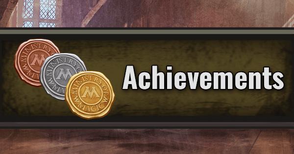 Achievements List   Harry Potter Wizards Unite Wiki - GamePress
