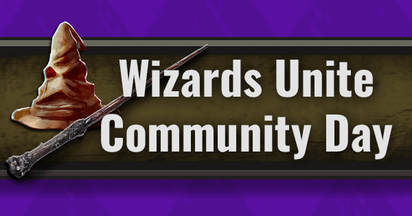 First Harry Potter: Wizards Unite Community Day Announced for 7/20